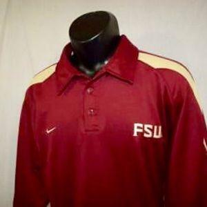 Men's Nike FSU Polo Golf Shirt